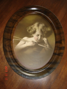 "Vintage frame ""Cupid Asleep"""