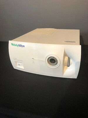 Welch Allyn Surgical Illuminator Cl300 With Head Lamp