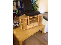 FREE Coffee Table, TV Unit One Chair FREE