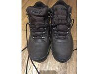 Boys UK Size 6 Hi-Tec Waterproof Hiking Boots