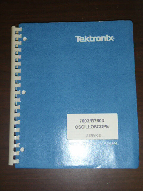 Tektronix Service Instruction Manual for 7603 R7603 Oscilloscope
