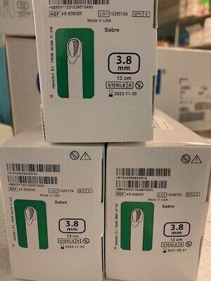 3 Boxes Of 5 Ar-8380sr 3.8mm Sabre Arthrex Cool Cut Blades 2023 2021 Dates