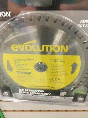 Evolution 7 Saw Blade Stainless Steel 180bladessn