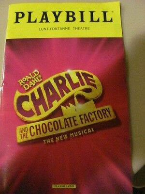 CHARLIE AND THE CHOCOLATE FACTORY Playbill Broadway Musical CHRISTIAN BORLE