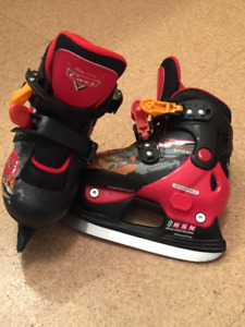 Disney Pixar Cars Adjustable Skates