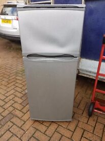 SILVER FRIDGE FREEZER CAN DELIVER HOTPOINT
