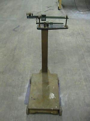 Rare FAIRBANKS ANTIQUE PLATFORM SCALE 1000 LB Farm Grain Feed Vintage 1000lb