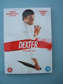 Dexter Season 1 one DVD Box Set