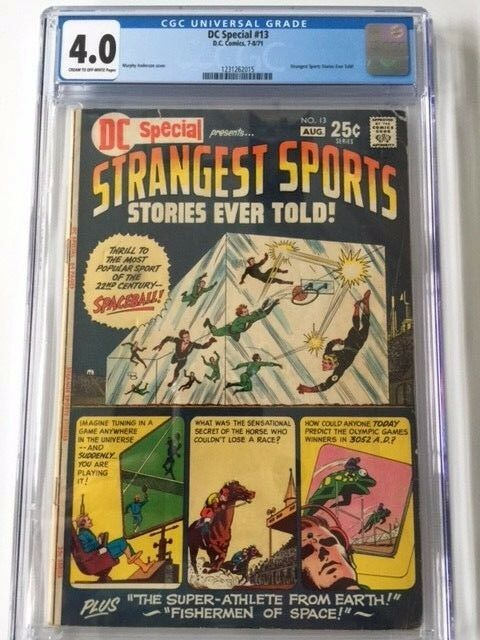 DC Special #13, CGC 4.0