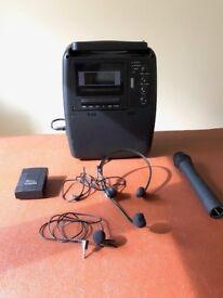 Carlsbro Portable PA System