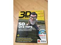 3D World Clay vs CGI / 50 VFX Tips Jun 2008+ Free CD