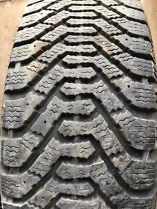 2 - Goodyear Nordic Winter Tires with great Tread - 195/65 R15