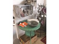 French Style Metal Cafe Table - indoor and outdoor use