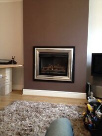 Burley G4111 flueless log effect gas fire
