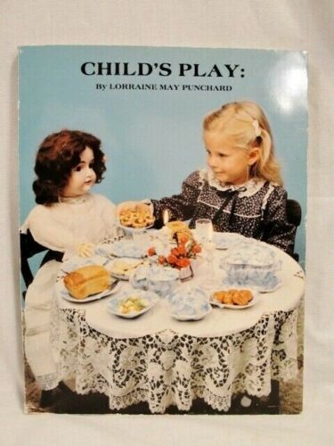 Child's Play by Punchard -collectible Dishes Kitchen Items Furniture toys 1982