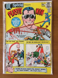 DC Special Presents Plastic Man #15 comic book - $30.
