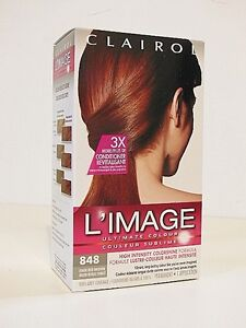CLAIROL L'IMAGE Ultimate Colour - 848 Dark Red Brown