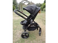 Black I Candy Peach 3 Buggy - v good condition