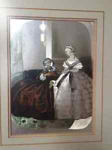 2 Victorian foil pictures London Ontario image 3