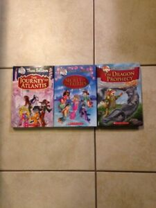Geronimo and Thea Stilton Full-COLOUR Hardcover Books for Sale