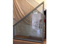 Rationel aluminium double glased brand new windows