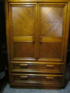 Solid Wood Armoire For Sale