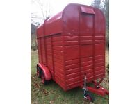 REDUCED Double horse trailer for sale /horse box