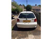 White VW Polo 1.4 CHEAP £200 Not GOLF
