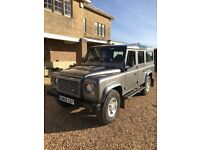 Immaculate Landrover Defender 110 Station Wagon for sale. MOT FSH 1 Previous Owner.