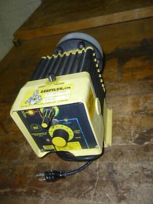 Lmi Milton Roy Serfilco D741-35t 20 Gph Chemical Metering Dosing Pump 3