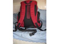 Red EuroHike Back Pack either for Day or an overnight bag