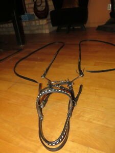 MATCHING BRIDLE/REINS SET, SNAFFLE BIT &BREAST-COLLAR London Ontario image 1