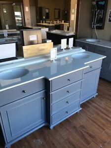 STORE CLOSING-VANITY FLOOR MODELS-REDUCED TO CLEAR-MUST GO!!