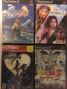 PlayStation 2 Game Lot (Lot of 4 games)