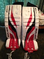 """Goalie Pads (32"""" + 1"""") for sale"""