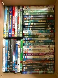 DVDs £1 each or 6 for £5