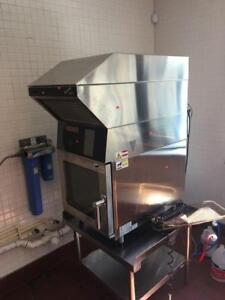Ventless combi oven with vent hood - Blodgett - RARE ITEM - NO VENT NEEDED - REDUCED PRICE