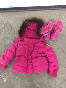 Baby Gap Winter Jacket and Kami Winter boots