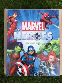 Woolworths Marvel Hero completed full set in Album