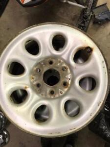 "4 - GMC/Chevy 6 Bolt Steel 17"" Rims"