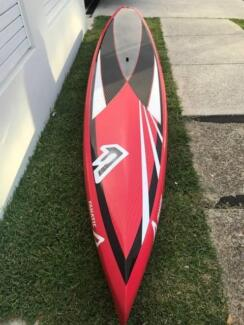 Fanatic Fly 14foot racing Carbon Fibre SUP stand up paddle board