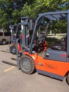 DIESEL FORKLIFTS - VALUE FORKLIFTS are here NOW!