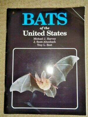 Bats of the United States J Harvey Book Arkansas Game & Fish 1999 Homing Western (Bats Of United States)