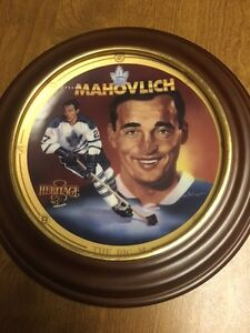 Toronto Maple Leafs Frank Mahovlich Plate
