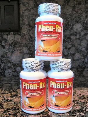 Phen-Rx~w/Hoodia~Diet Pills~EPHEDRA FREE~LOSE FAT FAST!