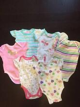 Girls size 00 - Summer Onesie bundle (6 items) Hillcrest Port Adelaide Area Preview