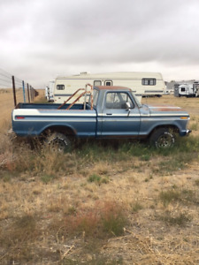1977 Ford Short Box Project truck