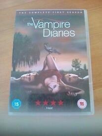 Season 1-3 the vampire diaries DVD's