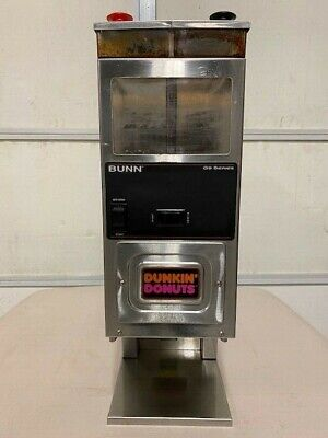 Bunn G9-2 Hd Commercial G9 Series Brewwise Dual Hopper Coffee Grinder
