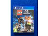 PS4 LEGO Jurassic World game - bought from new - hardly used. Excellent condition
